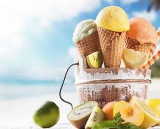 sorvete verao