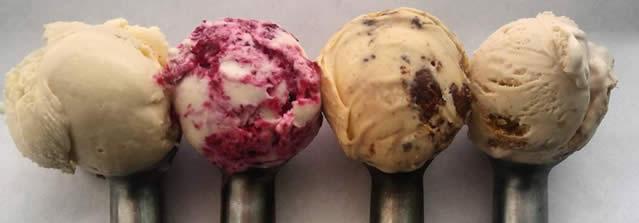 sorvete gourmet