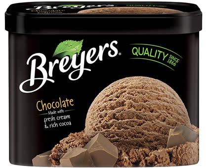breyers sorvete